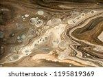 gold marbling texture design.... | Shutterstock . vector #1195819369