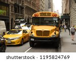 new york  usa   may 30  2018 ... | Shutterstock . vector #1195824769