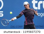 hua hin  thailand october 2 ren ... | Shutterstock . vector #1195837270
