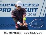 hua hin  thailand october 2 ren ... | Shutterstock . vector #1195837279