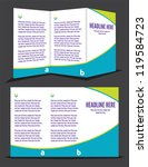 brochure design   Shutterstock .eps vector #119584723