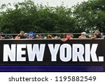 new york  usa   may 30  2018 ... | Shutterstock . vector #1195882549