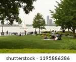 new york  usa   may 28  2018 ... | Shutterstock . vector #1195886386