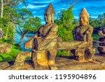 cambodia  siam reap  27 06 2017 ... | Shutterstock . vector #1195904896