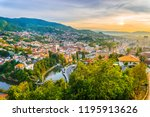 Sunset View Of Sarajevo From...
