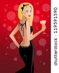 beautiful woman | Shutterstock . vector #119591590