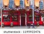 dublin  ireland   september... | Shutterstock . vector #1195922476