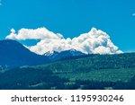 rocky mountains. mount burnham...   Shutterstock . vector #1195930246