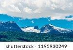rocky mountains. mount burnham...   Shutterstock . vector #1195930249