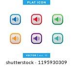 speaker audio sound icon vector ...