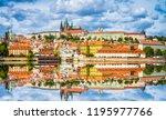 Panorama Of Old Town Of Prague...