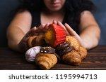 sugar addiction  nutrition... | Shutterstock . vector #1195994713