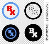 rx receipt symbol eps vector... | Shutterstock .eps vector #1196000149