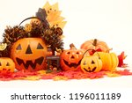 decorate a halloween party in a ...   Shutterstock . vector #1196011189