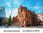 manchester  uk   may 18 2018 ... | Shutterstock . vector #1196011993
