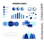 infographic elements  data... | Shutterstock .eps vector #1196012899