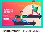 business concept. the... | Shutterstock .eps vector #1196017063