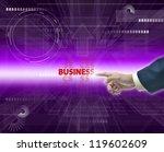 modern illustration of business ...   Shutterstock . vector #119602609