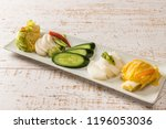 japan of homemade pickles | Shutterstock . vector #1196053036
