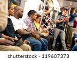 new york city   june 27 ... | Shutterstock . vector #119607373