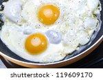 fried eggs | Shutterstock . vector #119609170