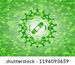 bandage plaster icon inside... | Shutterstock .eps vector #1196093659
