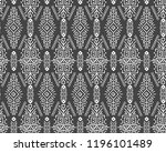 vector seamless pattern in... | Shutterstock .eps vector #1196101489