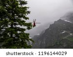 rescue helicopter in the... | Shutterstock . vector #1196144029