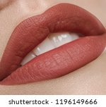 beautiful make up of glamour... | Shutterstock . vector #1196149666