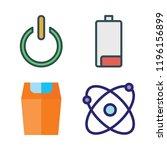 ecology icon set. vector set...   Shutterstock .eps vector #1196156899