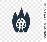 burning bush vector icon... | Shutterstock .eps vector #1196173240