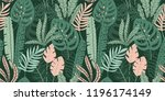 abstract seamless pattern with... | Shutterstock .eps vector #1196174149