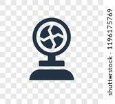 plasma ball vector icon...   Shutterstock .eps vector #1196175769