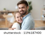 sincere just a married couple... | Shutterstock . vector #1196187400