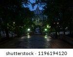 russia  vladivostok  july 2018  ... | Shutterstock . vector #1196194120
