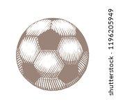 illustration of brown... | Shutterstock .eps vector #1196205949