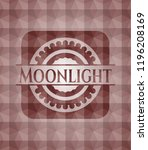 moonlight red seamless... | Shutterstock .eps vector #1196208169