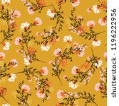blossom  floral pattern in the... | Shutterstock .eps vector #1196222956