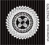 crossed bandage plaster icon... | Shutterstock .eps vector #1196227870