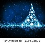 the best christmas golden tree... | Shutterstock . vector #119623579