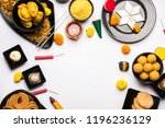 diwali sweets and snacks... | Shutterstock . vector #1196236129