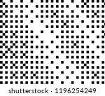 pattern in the style of 8 bit... | Shutterstock .eps vector #1196254249