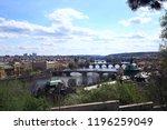 prague view   panoramic... | Shutterstock . vector #1196259049