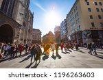 vienna  austria   september 05...   Shutterstock . vector #1196263603