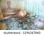 russian sauna broom   sauna... | Shutterstock . vector #1196267860