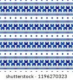 blue and white ceramic pattern... | Shutterstock .eps vector #1196270323