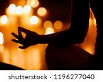 Meditation In Candle Light