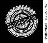 brother in law written on a... | Shutterstock .eps vector #1196278759