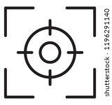 focus position  called precision | Shutterstock .eps vector #1196291140