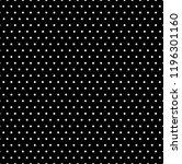 black and white polka dot... | Shutterstock .eps vector #1196301160